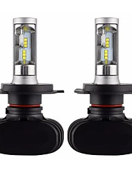 cheap -2pcs Car LED Headlamps Light Bulbs 8000 lm CSP 50 W 6500 k For universal All years