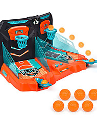 cheap -Mini Basketball Shooting Game – 2 Player Compact Desktop Toy – Score Counter - Desktop Arcade Games for Age 3+ – Exciting Fun – Tabletop Game - Ideal Gift for Children - Stress Relief