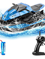 cheap -Remote Control Boats Toy Boats High Speed Waterproof Rechargeable Remote Control / RC for Pools and Lakes Boat Motor Speedboat For Kid's Adults' Gift