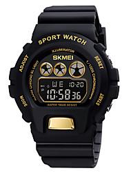 cheap -SKMEI Men's Military Watch Digital Digital Sporty Formal Style Calendar / date / day Chronograph Alarm Clock / One Year / Silicone