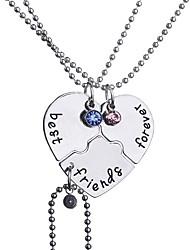 cheap -Women's Pendant Necklace Necklace Friends Cute Alloy Rainbow 40+5 cm Necklace Jewelry For