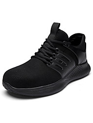 cheap -Men's Trainers Athletic Shoes Sporty Athletic Office & Career Safety Shoes Tissage Volant Breathable Non-slipping Shock Absorbing Booties / Ankle Boots Black Blue Gray Spring Summer