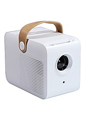 cheap -C1 Mini Portable Projector, Small Pico Size and Fully Enclosed for Outdoor Movie Support 1080P Video,Kids Gift, 50,000Hrs LED Life and Compatible with TV Stick, PS4, HDMI, TF, AV, USB
