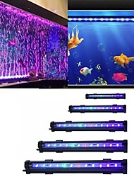 cheap -Fish Tank LED Bubble Light Aquarium Colorful Light Color Changing Bubble Light Waterproof Aquarium Lighting Fish Tank Decoration