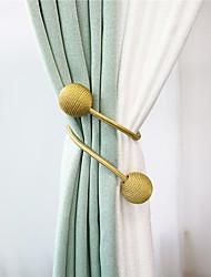 cheap -Tiebacks Curtain Accessories Window Treatments 1 Piece Modern Style Curtain Rope Decorative Draperies Holdback
