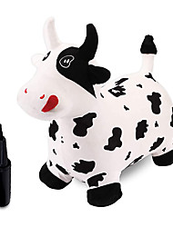 cheap -Bouncy Animals,Bouncy Horse,Hopping Toy,Bouncy Cow with Plush Covered,Hopper Toys for Kids,Gift for 18 Months 2 3 4 Year Old Kid Toddler Girl