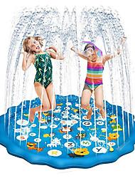 "cheap -Sprinkler for Kids 68"" Water Pad, Ocean World Inflatable Water Pad Sprinkler for Outdoor Play, Fun Backyard Fountain Play Mat for Splash Play Girls Boys Toddlers Dogs"