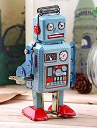 cheap -Robot Wind-up Toy Retro Tank Machine Robot Wrought Iron Iron Vintage Retro Unisex Toy Gift