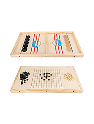 cheap -2 in 1 Winner Board Games Toys Ice Hockey Game Table Desktop Battles Games for Parent-Child