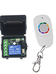cheap -DC 12V 1CH Remote control switch /Learning code relay switch /Momentary working way  433 mhz