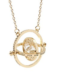 cheap -hourglass pendant necklace hermione time turner  wizardry falcon horcrux