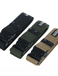 cheap -Men's Military Tactical Belt Breathable Wearable Protective for Solid Colored Nylon Fall Spring Summer