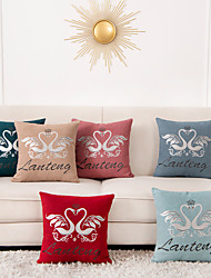 cheap -1 Pc Animal Cushion Cover 45x45cm Linen for Sofa Bedroom