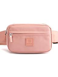 cheap -Women's Bags Crossbody Bag Daily Canvas Bag MessengerBag Black Purple Blushing Pink Khaki