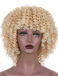cheap -Synthetic Wig Curly Short Bob Wig Short A10 A11 A1 A2 A3 Synthetic Hair Women's Cosplay Party Fashion Blonde