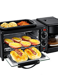 cheap -3 In 1 Coffee Maker Frying Pan 1050W Bread Toaster Electric Oven Household Bread Pizza Frying Pan Toaster