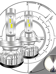 cheap -2pcs Car LED Headlamps H7 H4 H3 Light Bulbs 8000 lm Integrated LED 55 W 6000 k 2 For Volkswagen Toyota Nissan M3 Golf RAV4 2018 2008 2009