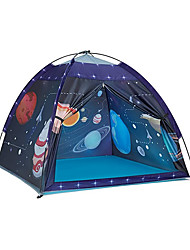 cheap -Kids Play Tent Indoor , Toddler Tent for Kids Indoor Games Imaginative Play Tent -The Observatory Universe Space Sturdy Kid Play Tent for Boys and Girls (Space)