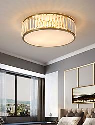 cheap -30/45/50 cm LED Ceiling Light Crystal Gold Modern Flush Mount Lights Copper Brass LED Nordic Style Bulb Not Included 110-240 V
