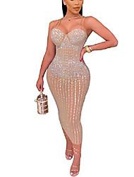 cheap -Women's Sheath Dress Short Mini Dress Apricot Black Sleeveless Special Design Summer Chic & Modern 2021 S M L XL XXL