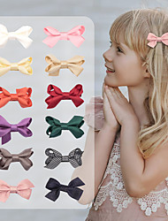 cheap -70945ins sen-line girl bow hairpin, european and american retro twisted leaf children's accessories, red hairpin headdress