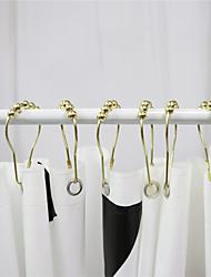 cheap -Curtain Accessories  Metal Hooks Metal 12 Packs