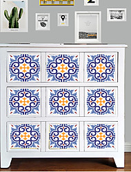 cheap -6 Pieces Of Simulation Ceramic Tile Self-adhesive Wall Paste 20x20cm