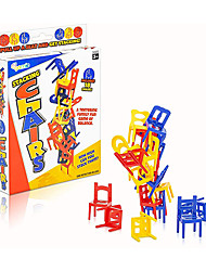 cheap -Balancing Chair Game 2 Sets Stacking Chair Games with 18 Mini Chairs & Instruction Guide New Family Game Night Games for Children Development Learning Game for Coordination & Balance