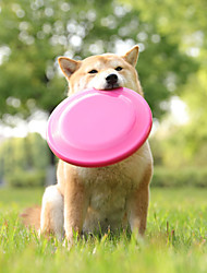 cheap -Dog Chew Toys Dog Toy Flying Disc Dog Round Pet Exercise Releasing Pressure Teething Toy PU Leather Gift Pet Toy Pet Play