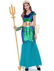 cheap -Dance Costumes Dress Paillette Women's Performance Theme Party Cap Sleeve High Terylene