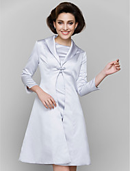 cheap -Coats / Jackets Satin Wedding / Party Evening Women's Wrap With