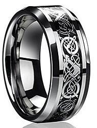 cheap -New Silver Celtic Dragon Titanium Stainless Steel Men's Wedding Band Rings EW sakcharn