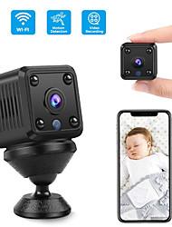 cheap -2021 Mini Camera HD-1080P WIFi HD Night Vision Infrared Camera Home Security Surveillance Wireless Camera MC61