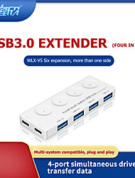 cheap -LITBest V5 USB 3.0 to USB 3.0 USB Hub 4 Ports
