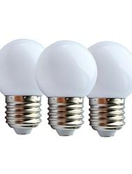 cheap -3pcs 2 W LED Globe Bulbs 130 lm E27 G45 6 LED Beads SMD 2835 Warm White White 180-240 V