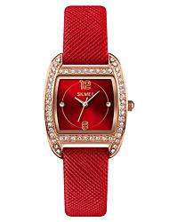 cheap -SKMEI Women's Quartz Watches Analog Quartz Stylish Luxury Water Resistant / Waterproof Creative / Genuine Leather
