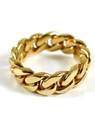 cheap -Band Ring Snake Gold Alloy Punk 1pc 6 7 8 9 10