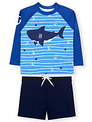 cheap -children's swimsuit boy ins split sunscreen quick-drying swimsuit baby big boy boy seaside beach pants hot spring