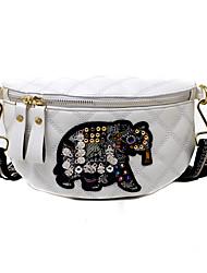 cheap -Women's Bags Sling Shoulder Bag Daily Date 2021 White Black