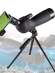 cheap -GOMU 20-60 X 60 mm Monocular Weather Resistant Spotting Scope Folding Travel Size 130/1000 m Multi-coated BAK4 Hunting Performance Outdoor Exercise