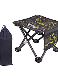 cheap -Camping Stool with Side Pocket Multifunctional Portable Breathable Ultra Light (UL) Oxford for 1 person Fishing Beach Camping Traveling Autumn / Fall Winter Yellow Blue Grey