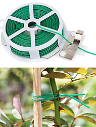 cheap -30M Garden Cable Ties Power Wire Loop Tape Flower Cable Tie Wire Multifunction Straps Fastener Reusable Magic Tape