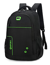 cheap -Men's Oxford Rucksack Commuter Backpack Large Capacity Zipper Daily Traveling Backpack White Blue Orange Green