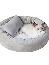 cheap -Cat Bed Solid Colored Cute Cute Special Material for Large Medium Small Dogs and Cats