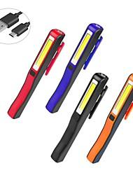 cheap -Usb Rechargeable Pen-shaped Work Light Cob Auto Repair Light Emergency Multi-function Inspection Light Magnet Repair Lighting Tool Light