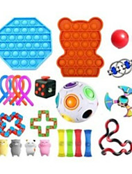 cheap -Squeeze Toy / Sensory Toy Jumbo Squishies Sensory Fidget Toy Stress Reliever 23 pcs Cute Stress and Anxiety Relief Slow Rising For Kid's Adults' Boys and Girls Home