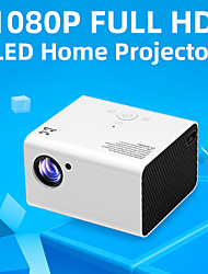 cheap -T10 Full HD Led Projector Portable Home Theater Video Projector 4000 Lumens 1080P Support USB HDMI Beamer Android