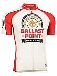 cheap -men's souvenir cycling/biking jersey, ballast point sextant, medium
