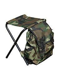 cheap -Camping Stool with Side Pocket Multifunctional Portable Breathable Ultra Light (UL) Oxford for 1 person Fishing Beach Camping Traveling Autumn / Fall Winter Camouflage