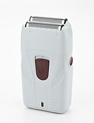cheap -Shaving Head Bald Head Pushing White Razor Beard Knife Wholesale Reciprocating USB Electric Shaver